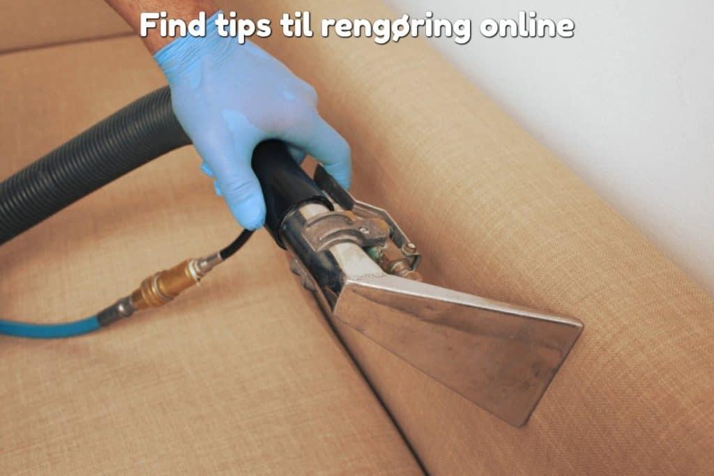Find tips til rengøring online
